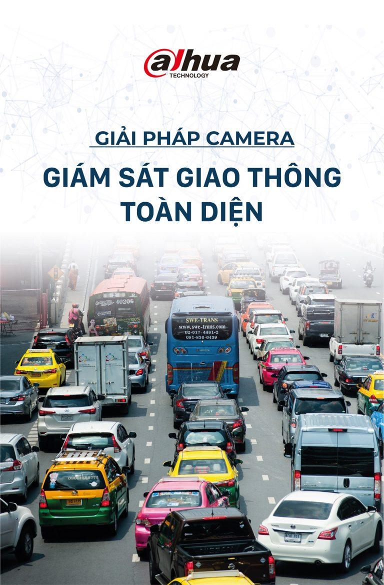Giải pháp camera giám sát giao thông toàn diện của Dahua
