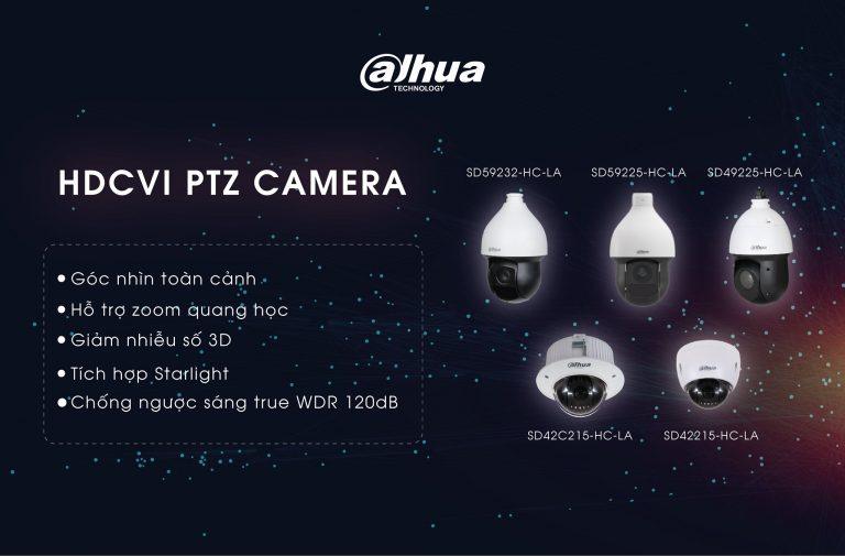 Đánh giá ưu điểm của camera Dahua PTZ HDCVI