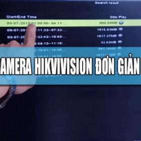 Hướng dẫn trích xuất thông tin camera Hikvision